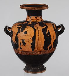 Attributed to the Amykos Painter: Hydria (water jar) (91.1.466) | Heilbrunn Timeline of Art History | The Metropolitan Museum of Art