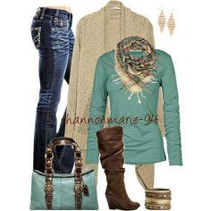Love the mixture of colors