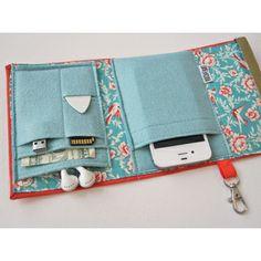 Nerd Herder Gadget Wallet :: the mental_floss store I think I could make something similar