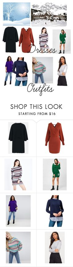 """""""Winter outfits"""" by lovrrofclptheshsoesetc on Polyvore featuring STELLA McCARTNEY, Chicwish, New Look, ASOS Curve, Hobbs and Pull&Bear"""