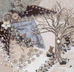 CRAZY QUILT EXAMPLE............PC...........Plays With Needles: Crazy Embroidery