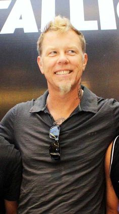 James Hetfield...Twenty years ago I wouldn't have been saying this...but I'll say it now: SEXY.