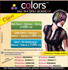 ABP South AD for Colors Loreal Salon