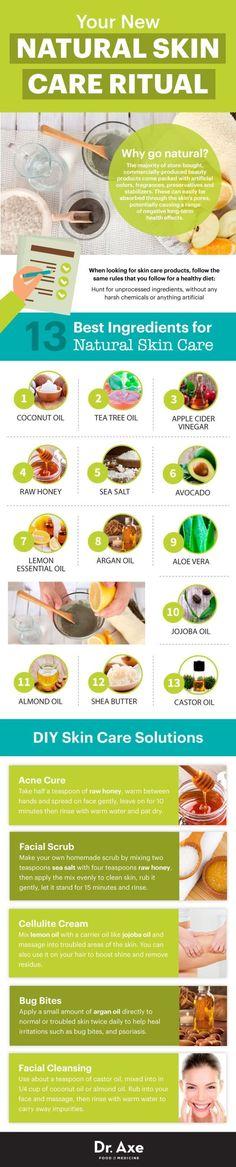 DIY Mask : Natural & DIY Skin Care : Natural skin care guide Dr. Axe www.draxe.com #health