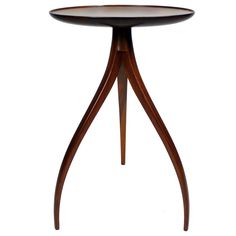 Sculptural Side Table by Edward Wormley for Dunbar | From a unique collection of antique and modern side tables at http://www.1stdibs.com/furniture/tables/side-tables/