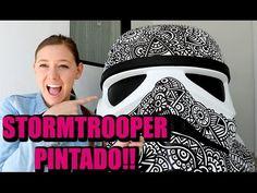 PINTE UN STORMTROOPER TAMAÑO ENORME!!! Dani Hoyos Art! - YouTube