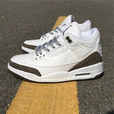 274e270c5023 uk air jordan 3 mocha 2018 white chrome dark brown 136064 122 9f85b 34bb9