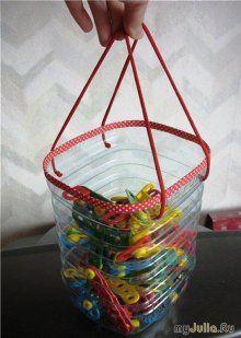 Idea de Como Reciclar Botella de Agua de 5lts. (Idea Web)