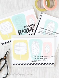 Todays post is part of a blog hop celebrating the new The Color Of Fun release from Simon Says Stamp. More on the hop below, but lets jump into these blocked leaves pattern cards first. I love, love, love the One With Nature set! As a stationery geek, when I saw this set it reminded meof lots of…