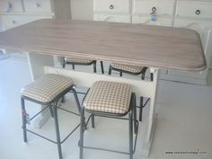 Restyled Vintage: Before & After: French Country Style Dining Table