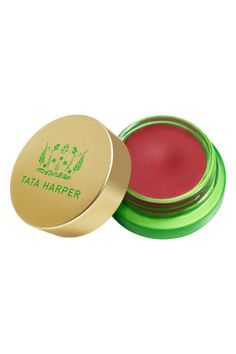 A pot of semi-sheer balm is the answer for kissable lips.