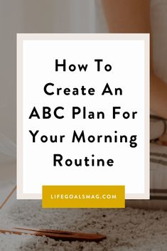 Do you have a backup plan for your morning routine? Or is it all-or-nothing mode for you? If you've bought into the idea that you need to complete a morning routine in its entirety, or else you'll just roll out of bed and go straight into the day, you're missing out on what could still be a mindful morning. What if you could intentionally set up a plan, so that no matter what amount of time you have in the morning, you can still kickstart your morning feeling fresher, more put together and ready Throw In The Towel, Make A Plan, Go Getter, Personal Relationship, All Or Nothing, Self Improvement Tips, How To Eat Less, What Happens When You, Self Care
