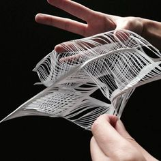 paper architecture model nexttoparchitects:by Victor Mota. Folding Architecture, Parametric Architecture, Parametric Design, Concept Architecture, Landscape Architecture, Architecture Design, Installation Interactive, Landscape Model, Arch Model