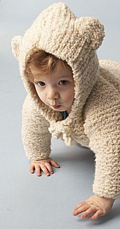 Baby Bear Hooded Jacket