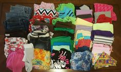 HUGE 46 PC Lot Girls Clothes 10/12 Tops, Shorts, Jeans, Justice & More #B12 in Clothing, Shoes & Accessories, Kids' Clothing, Shoes & Accs, Girls' Clothing (Sizes 4 & Up) | eBay