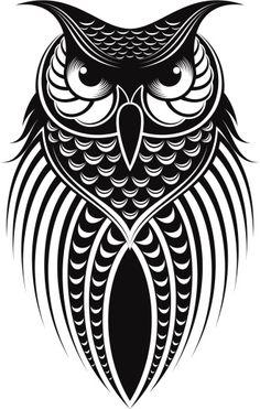 owl illustration.