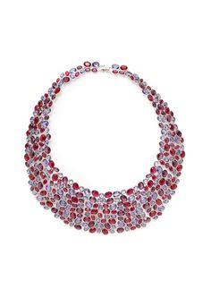 Party Bib Necklace by Swarovski Jewelry on Gilt.com