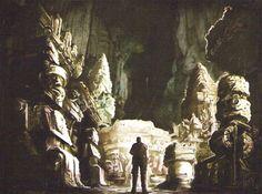 Resident Evil 5 concept art - the ruins