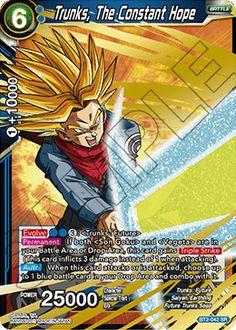 Dragon Ball Z TRUNKS Play Card Mega collection Cd Card