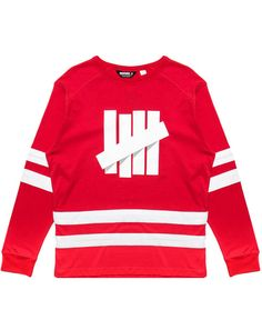 UNDEFEATED - BREAKAWAY HOCKEY JERSEY (RED)