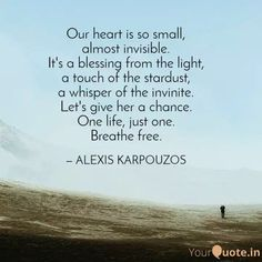 alexis karpouzos poetry and creative writing One Life, A Blessing, Creative Writing, Poetry, Self, Let It Be, Thoughts, Words, Quotes