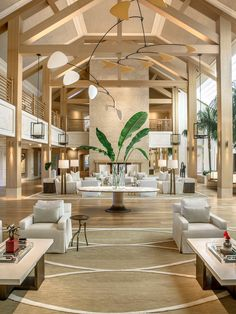 Welcome to Four Seasons Hotel Lanai at Koele, A Sensei Retreat, the first all-inclusive wellness experience offered by and a… Modern Hotel Lobby, Hotel Lobby Design, Hotel Design Interior, Luxury Hotel Design, Luxury Hotels, Luxury Travel, Hotel Lounge, Lobby Lounge, Hotel Four Seasons