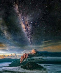 Mount Bromo, East Java - Indonesia.space