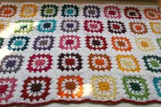 Amelie and Atticus: Rainbow Crochet Blanket