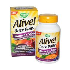 Alive! Women's 50+ Multi-Vitamin OAD 30tabs