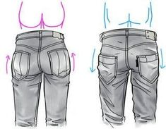 Como dibujar ropa hombre y mujer