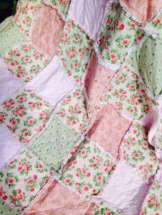 Quickest Queen Quilt Ever & Tutorial of a Rag Quilt