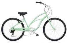 "Electra Cruiser 7 Speed 26"" Ladies Seafoam Steel Frame. $319.99 plus tax and shipping or pick-up in store. Call for details (949) 675.5010"