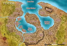 Totra - City Map