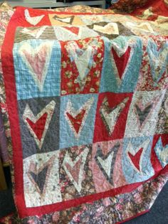 Crazy Hearts a Buggy Barn pattern