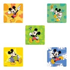 Mickey Mouse Stickers - OrientalTrading.com
