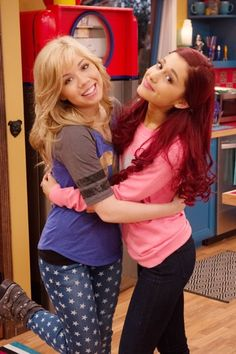 I Love Ariana Grande And Jennette Mccurdy I Love Their New Show Called Sam And Cat