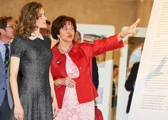 Queen Letizia of Spain attends opening of the exhibition 'Recognizing the Spanish Heritage in Europe' at the College of Architects (COAM) on May 23, 2016 in Madrid, Spain. Hispania Nostra is organising a major photographic exhibition about the Spanish winners of the European Heritage Awards since its creation in 1978.