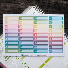 36 TV Shows/ Series Sticker Planner by FasyShop on Etsy