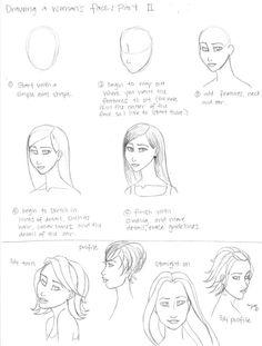 Woman's Face Tutorial, part 2 by ~merryjayne on deviantART