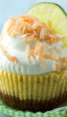 Coconut Key Lime Pie Cupcakes Recipe