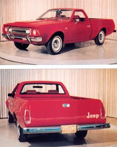 1971 AMC Jeep Cowboy Pickup Prototype