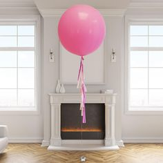 Helium filled giant tassel tail balloon delivered to your door