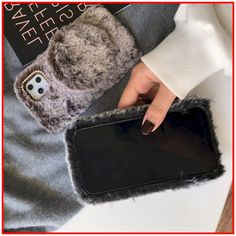 Furry Luxury Diamond Winter Shockproof Protective Designer iPhone Case Cheap Sale Plus 8, Iphone Models, Iphone Se, Different Styles, Simple Designs, Cool Style, Gucci, Luxury, Diamond