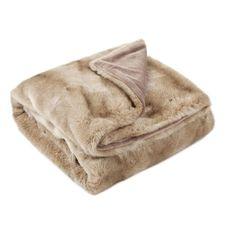 Μονόχρωμη κουβέρτα από συνθετική γούνα - Κουβέρτες - Κρεβατι | Zara Home Ελλάδα / Greece