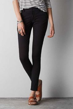 Mid-Rise Jegging Ankle Pant