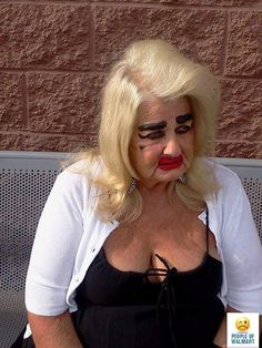 Lost in the makeup isle at Walmart for years
