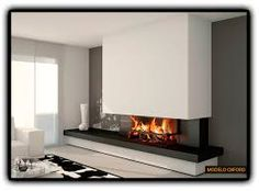 Resultado de imagen para chimeneas modernas elegantes