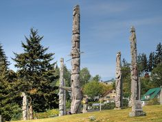 Alert Bay First Nations burial grounds Sacred Land Fishing Villages, Totems, Vancouver Island, First Nations, See Photo, British Columbia, Alaska, Places Ive Been, North America