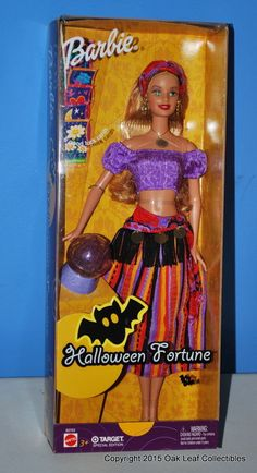 Halloween Fortune Teller Barbie Doll B2703 Mattel 2003 Target NRFB Mint!