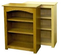 Bookshelves | Bare Woods Furniture | Real Wood Furniture Finished Your Way
